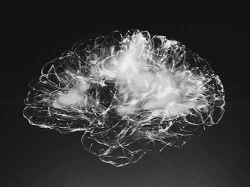 Brain cells in black and white colors representing mental health | Coor