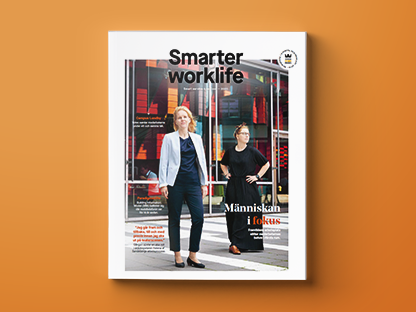 Magzine cover of smart work-life | Coor